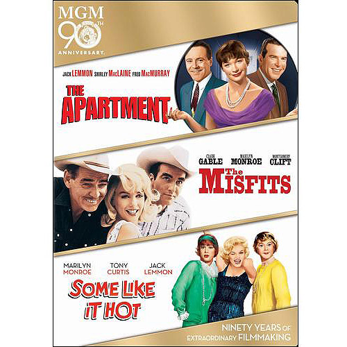 The Apartment / The Misfits / Some Like It Hot (Widescreen)