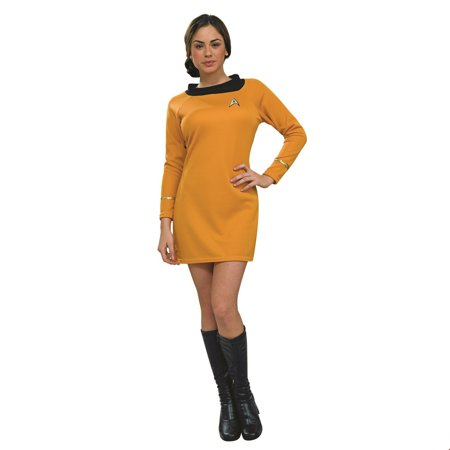 Star Trek Womens Deluxe Command Uniform Halloween Costume](Star Trek Female Costumes)
