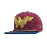 Wonder Woman Justice League Armor 59Fifty Fitted Hat-7 3/4 Fitted