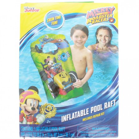 Mickey Mouse Inflatable Pool (Mickey Mouse 15 x 26 Kids Inflatable Pool Float Water)