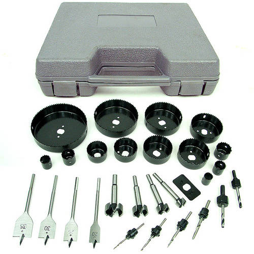 Stalwart Loaded 31pc Hole Saw And Drill Bit Kit