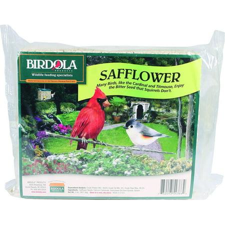 Birdola Safflower Premium Blend Bird Seed Cake, (Best Way To Stop Squirrels From Eating Bird Seed)
