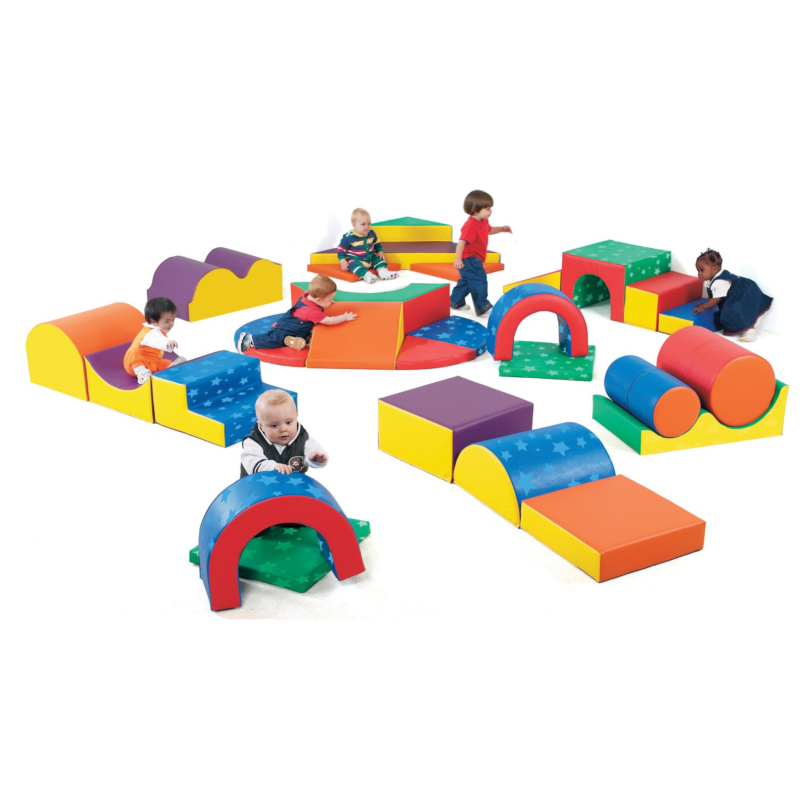 CHILDREN'S FACTORY Gross Motor Soft Play Climbers