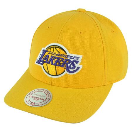 NBA Mitchell Ness Los Angeles Lakers NJ07 Low Pro Coaches Snapback Hat Cap LA