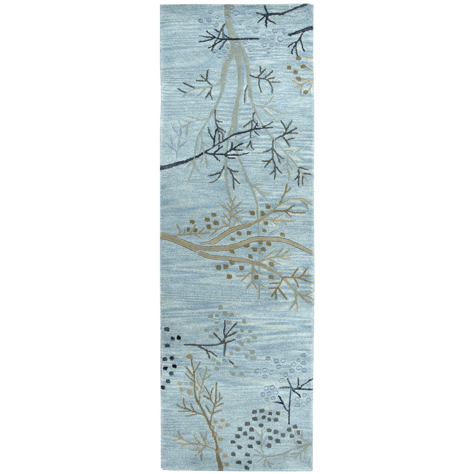 Rizzy Home Craft CF0815 Rug - (2 Foot 6 Inch x 8 Foot)