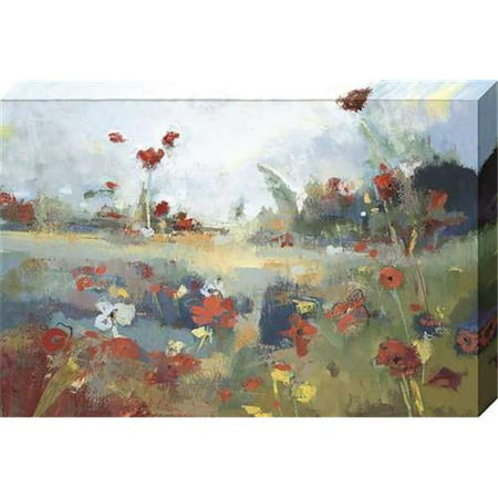 North American Art NC2048 24 x 36 x 1.5 in. Garden Delight Canvas Gallery Wrapped Art Print - image 1 de 1