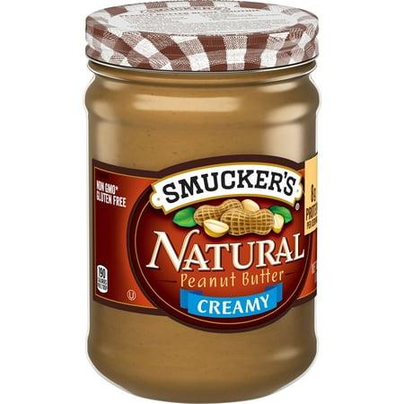 Illipe Butter - (2 Pack) SmuckerâsCreamy Natural Peanut Butter, 16-Ounce