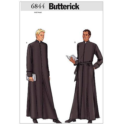 Butterick Pattern Men's Robe, (32, 34, 36)