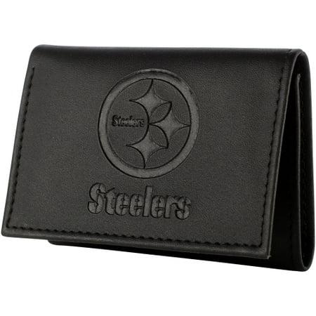 Pittsburgh Steelers Hybrid Tri-Fold Wallet - Black - No Size ()