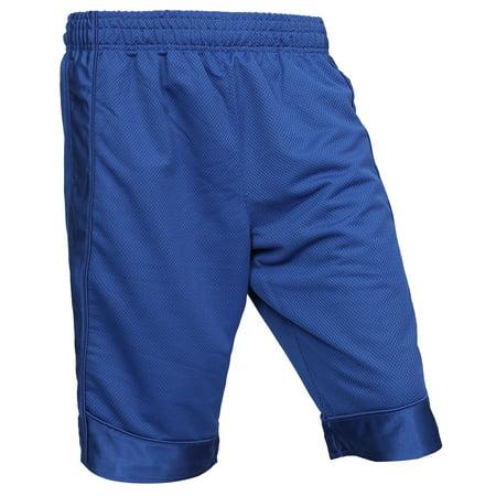 Pro Club Men's Heavyweight Basketball Mesh Shorts Activewear