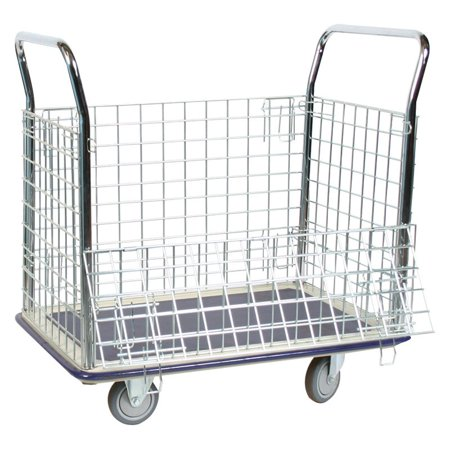Wesco Wire Caged Steel Platform Truck