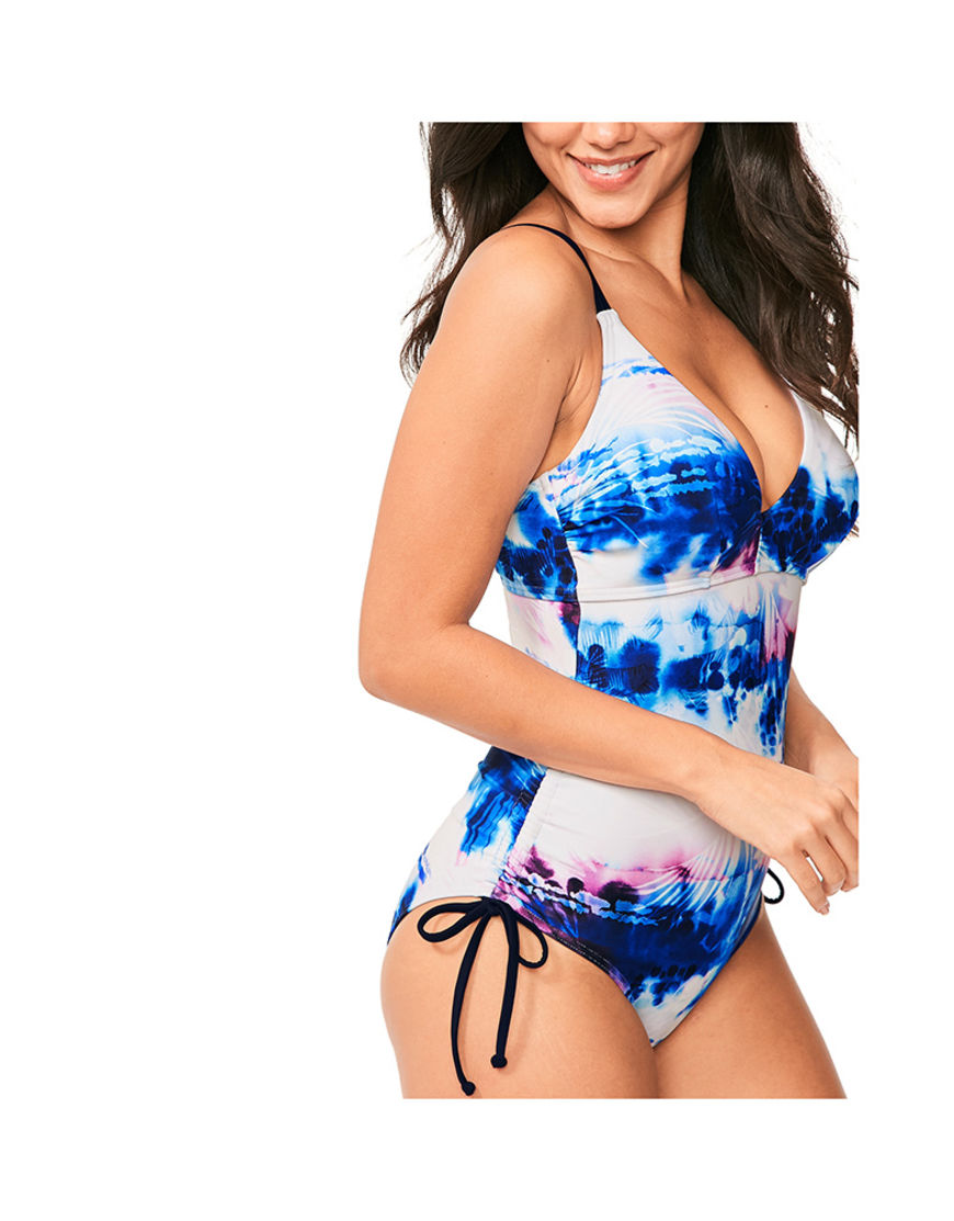 3c180779884 Figleaves Womens Swimsuits Layla Underwired Classic Tummy Control Swimsuit  D GG cup
