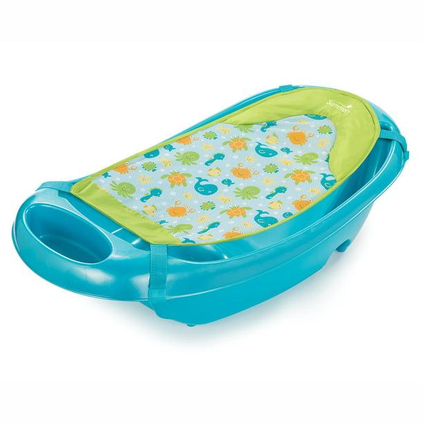 Summer Infant Splish 'n Splash Newborn to Toddler Tub, Blue - Walmart.com -  Walmart.com
