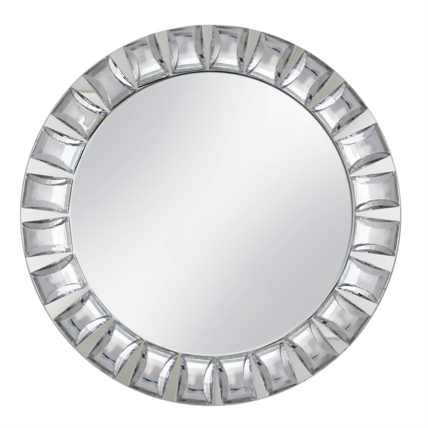 Mirror Charger Plate with Big Beads