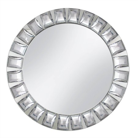 Mirror Charger Plate with Big Beads ()