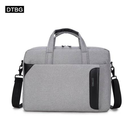 - DTBG 15.6 Inch Gray Laptop Tote Bag for Adults, Laptop Handbag Case Bag for 15.6 inch Laptop / Business / School / Travel