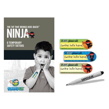 Ninja Safety Tattoo