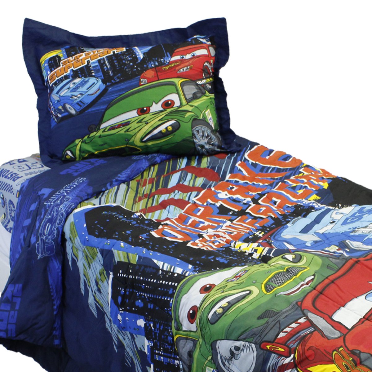 Jay Franco And Sons 17180879 4pc Disney Cars Full Comfort...