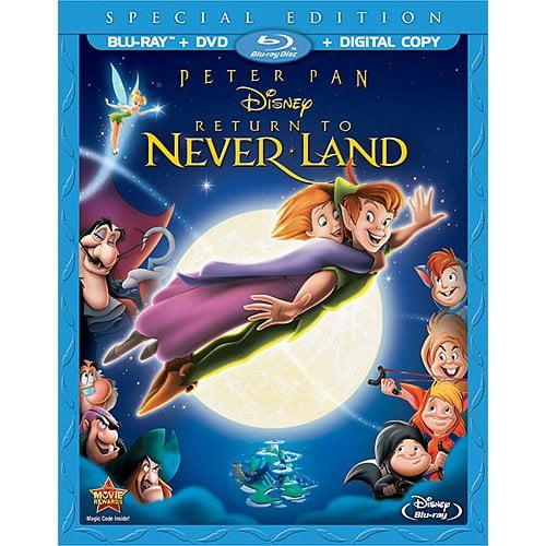 Buena Vista Peter Pan: Return To Never Land (Special Edition) (Blu-ray + DVD + Digital Copy) (Widescreen)