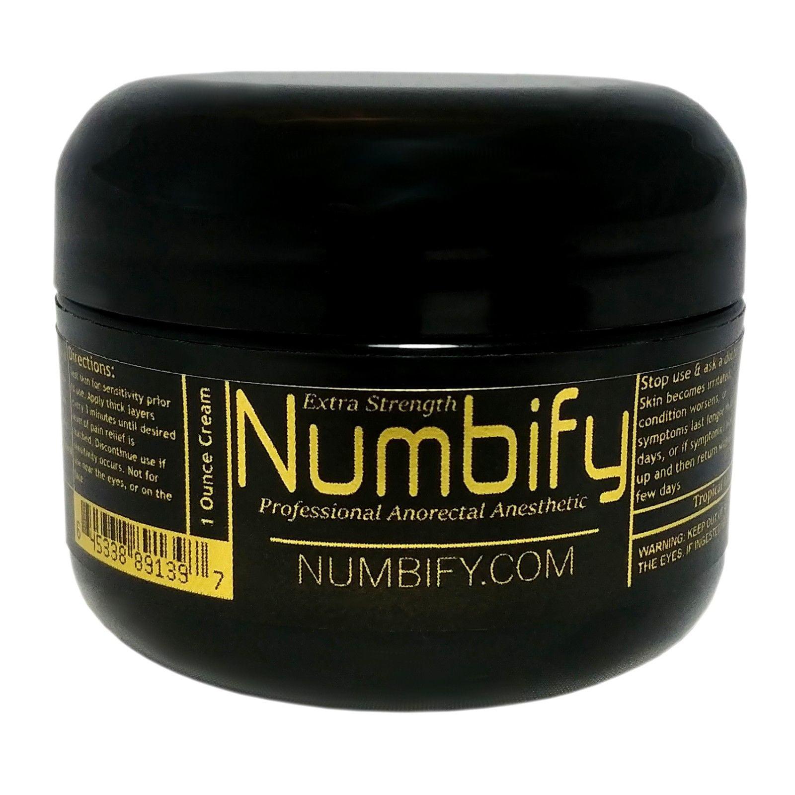 Extra Strength Numbify - 5% Lidocaine Numbing Cream (1 Oz)