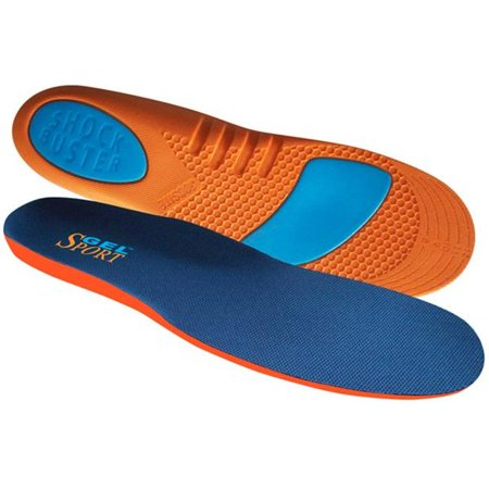 Manakey Group 54076 Gel Sport Insole Slim Sport for Women 6-12 Trim to Fit Slim Sport Insole