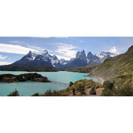 The Great Chile Poster - LAMINATED POSTER Torres Paine Del Chile Torres Del Paine Patagonia Poster Print 24 x 36