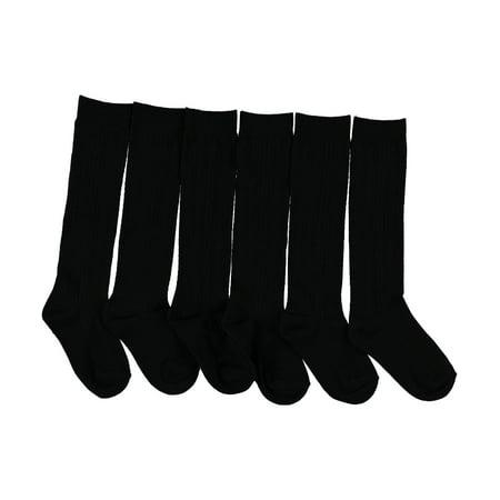 Blue Heaven Cable Knee Socks (Sizes 5 - (Popcorn Cable Socks)