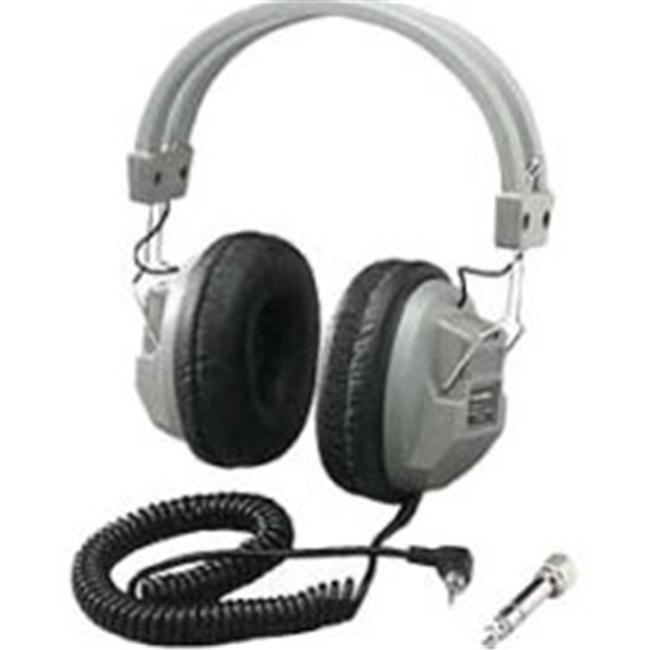 Hamilton Electronics HA7 SchoolMate Deluxe Stere - Mono Headphone with 1 - 8 in. Plug and 1 - 4 in. Adapter - image 1 de 1