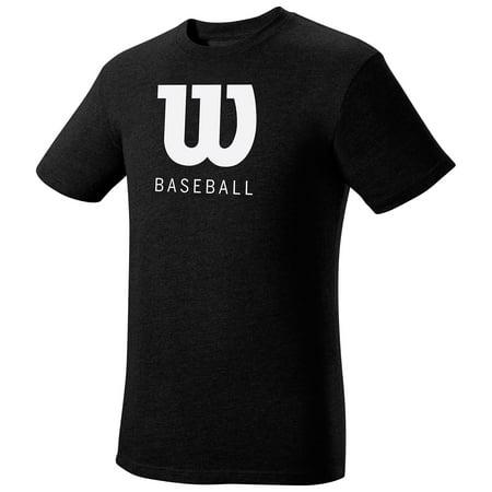 Wilson Baseball Men's Short Sleeve T-Shirt (Wilson Baseball T)