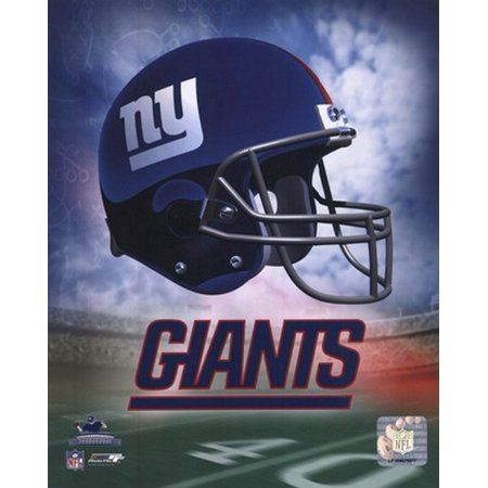 NY Giants Helmet Logo Sports Photo
