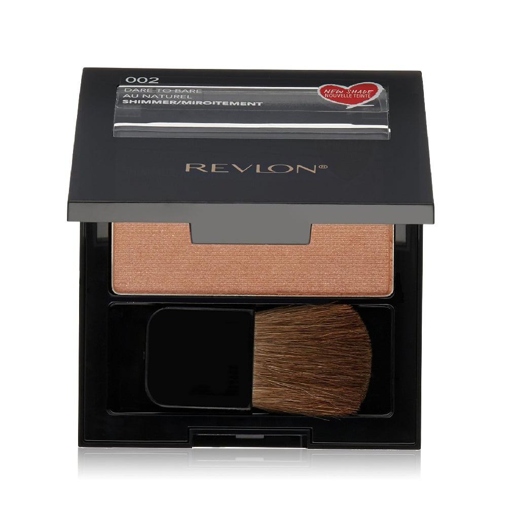 Revlon Powder Blush #002 Dare To Bare + Beyond BodiHeat Patch, 1 Ct