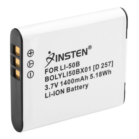 Insten Olympus Li-50B Compatible Li-Ion Battery For 1010 / 1020 / 1030 ()