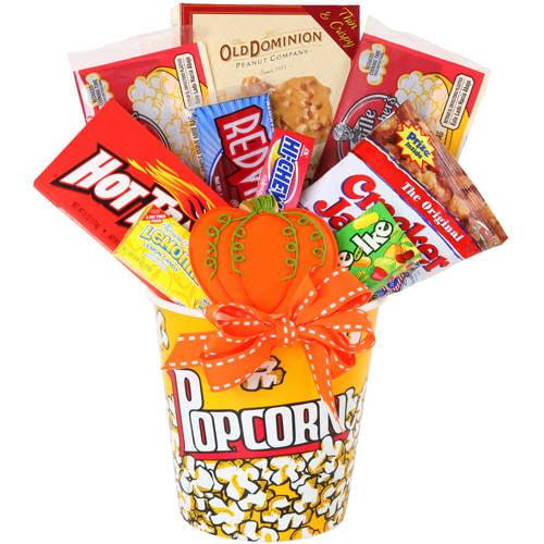 Alder Creek Fall Movie Night Halloween Gift Basket, 12 pc ...