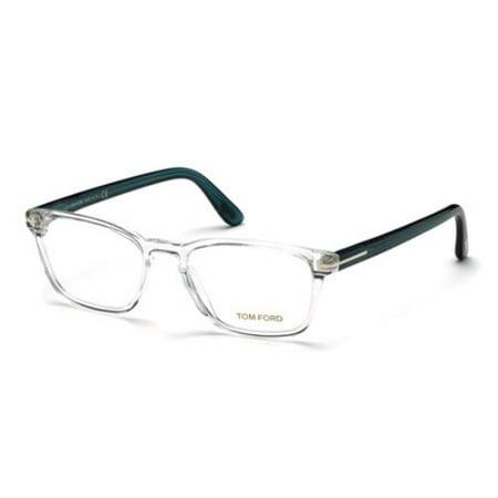 TOM FORD Eyeglasses FT5355 026 Crystal 54MM