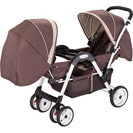 Luxurie Dounble Stroller, face to face