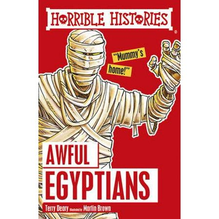 Awful Egyptians (Horrible Histories) (Paperback)](Horrible History Halloween)