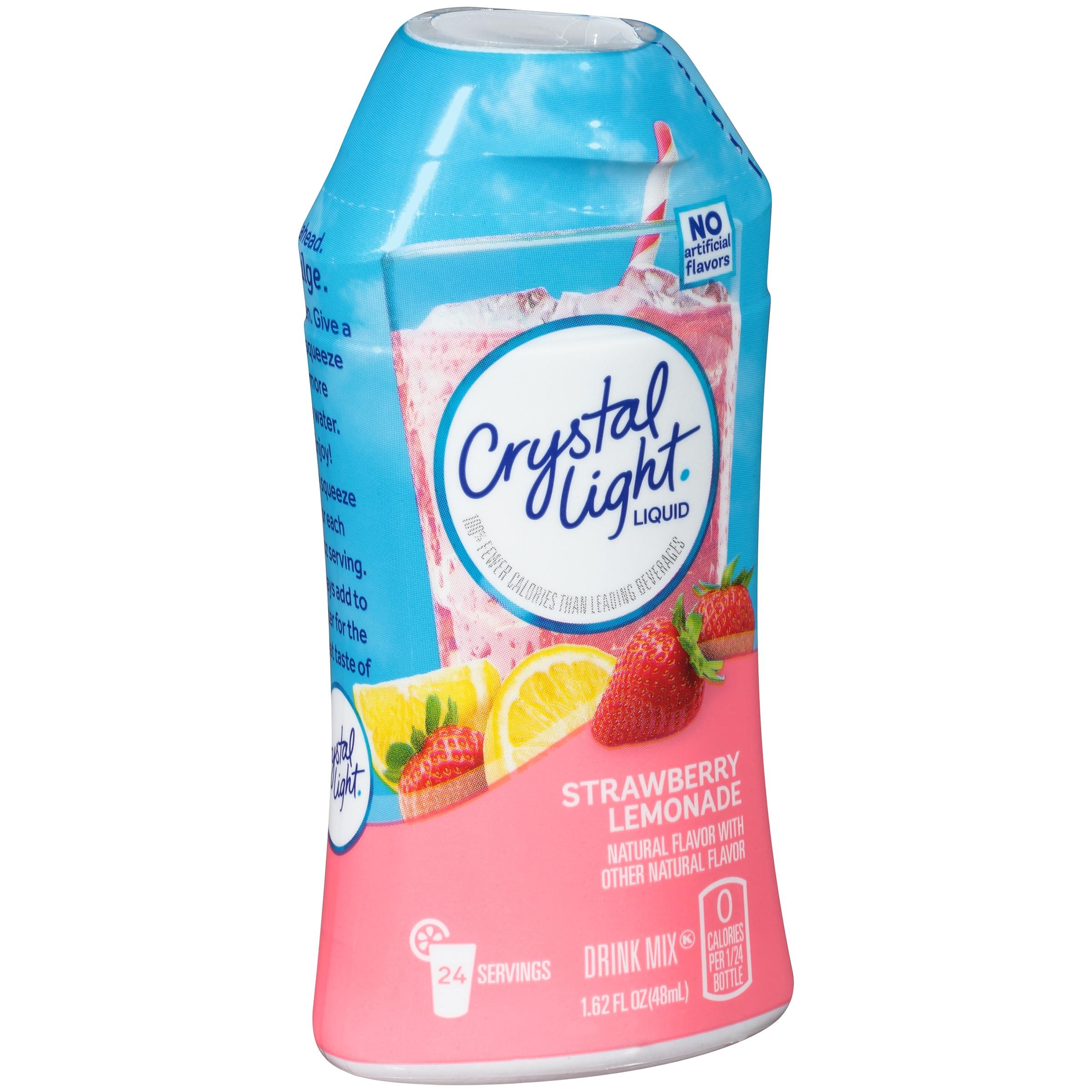 Crystal Light Strawberry Lemonade Liquid Drink Mix 1.62 fl. oz ...