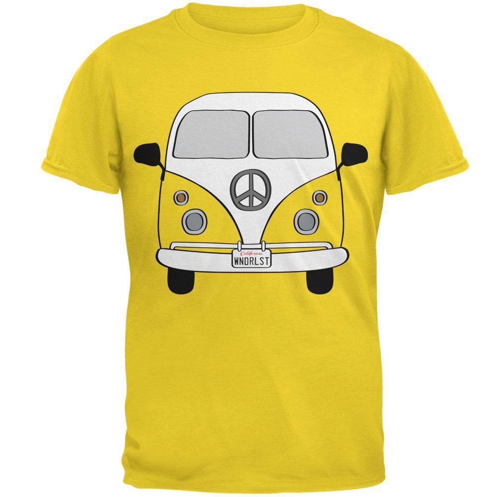 Halloween Travel Bus Costume Camper Wanderlust Mens T Shirt