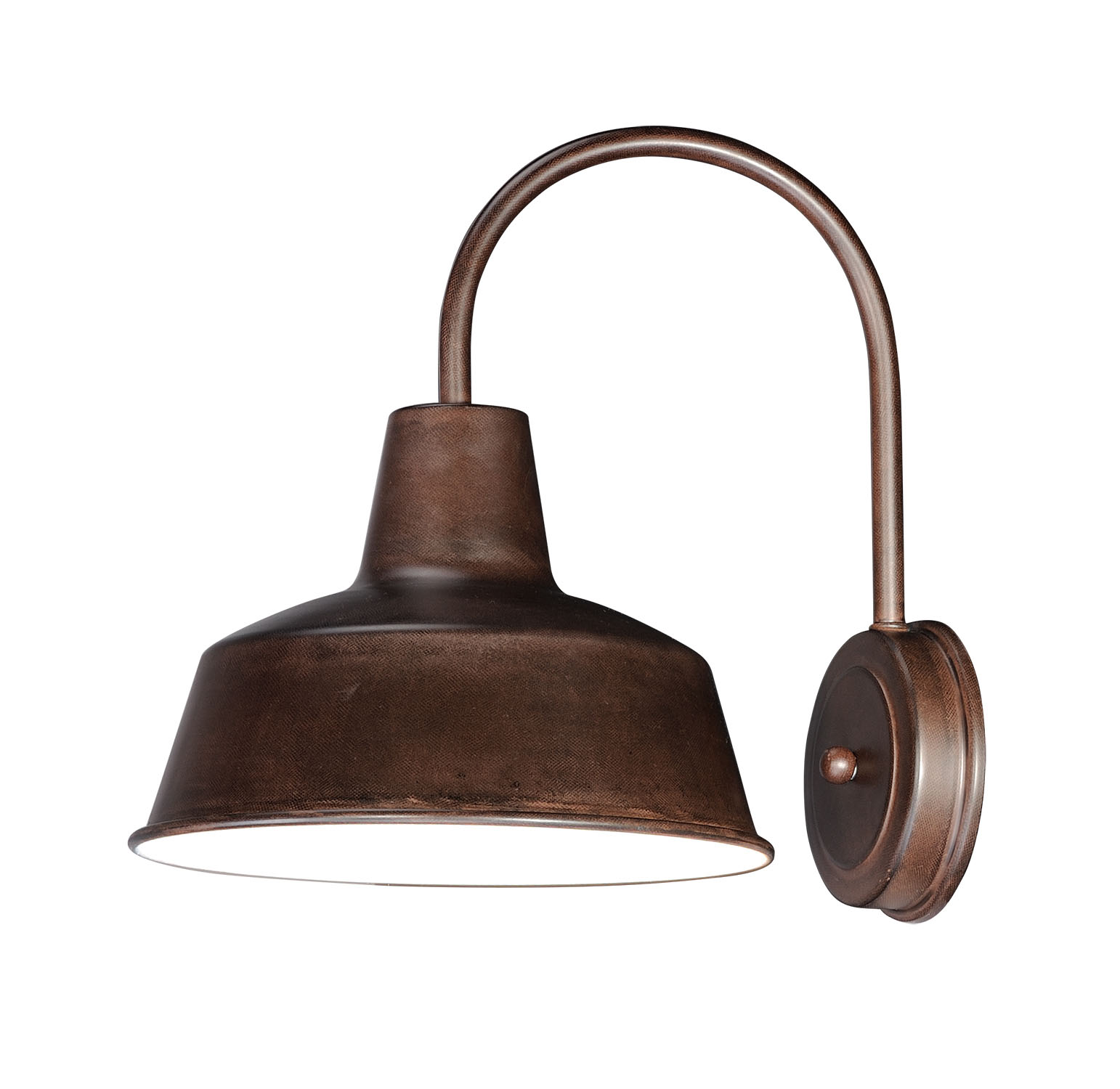 """Maxim 35016 Pier M Single Light 13-1/4"""" Tall Outdoor Wall Sconce with Metal Ware"""
