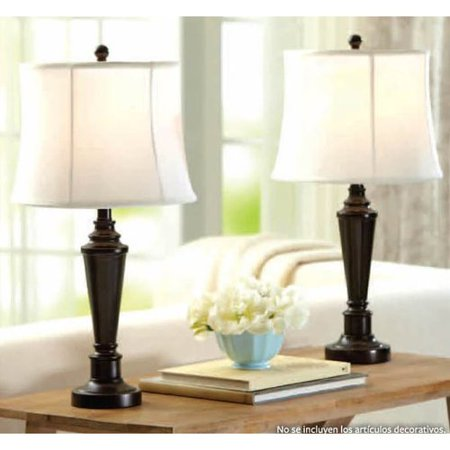 Better Homes and Gardens Transitional Two Pack Lamp Set