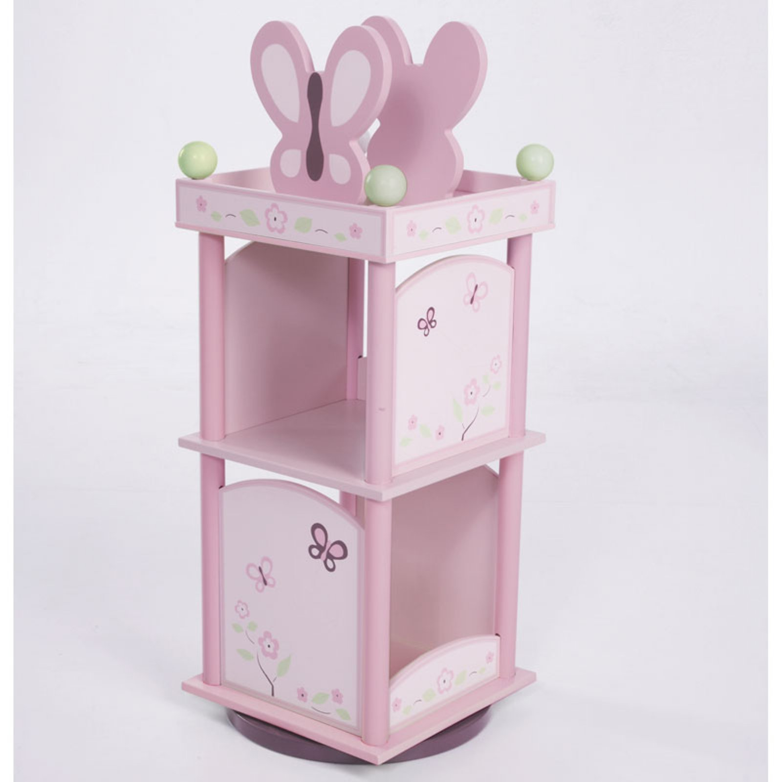 Wildkin Sugar Plum Revolving Bookcase