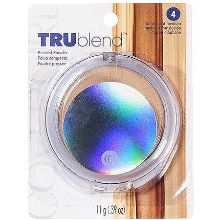 COVERGIRL truBLEND Pressed Powder 4 Translucent - Medium - 0.39oz