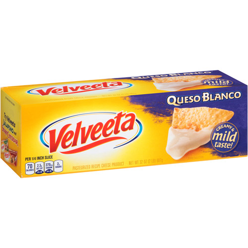 Kraft Velveeta Queso Blanco Cheese, 32 oz
