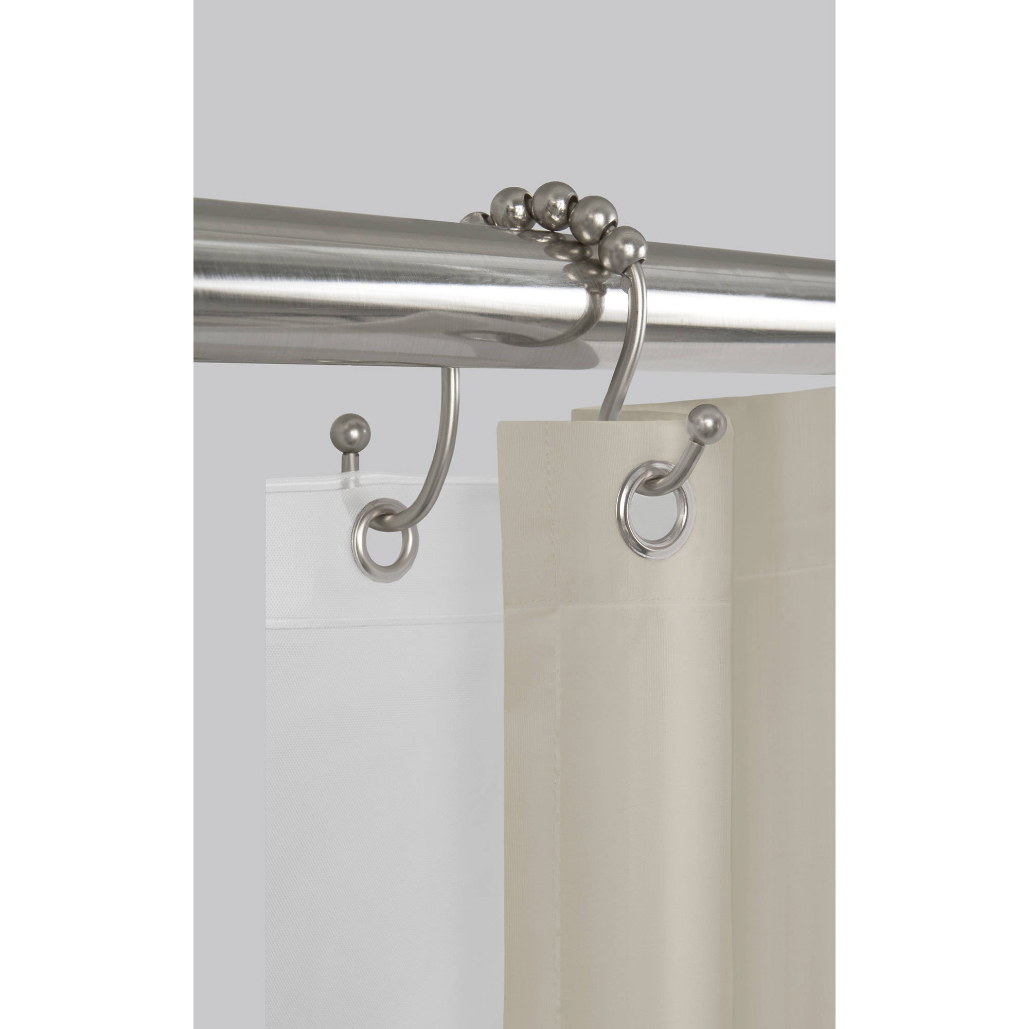 Better Homes And Gardens Curved Metal Shower Curtain Rod Shower