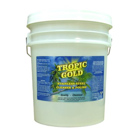 Tropic Gold Stainless Steel Polish - 5 gallon