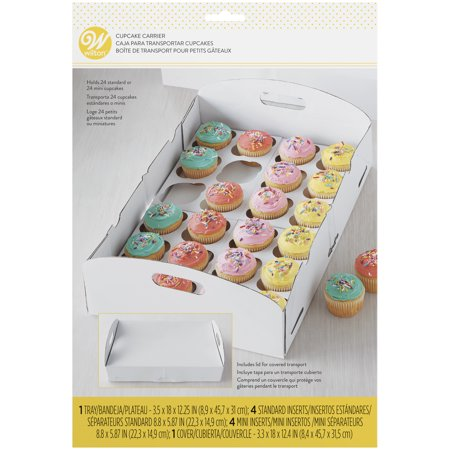 Wilton White Cupcake Carrier Box