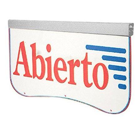 Image of Actiontek Acrylic LED Sign - Abierto