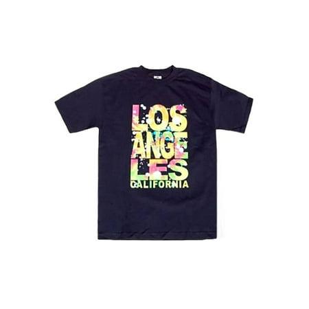 Men's LA Tie Dye Hipster Shirt , Medium - image 1 de 1