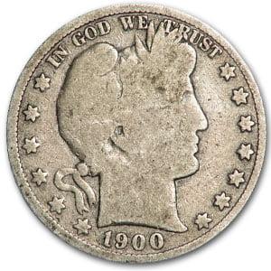 1900-S Barber Half Dollar Good