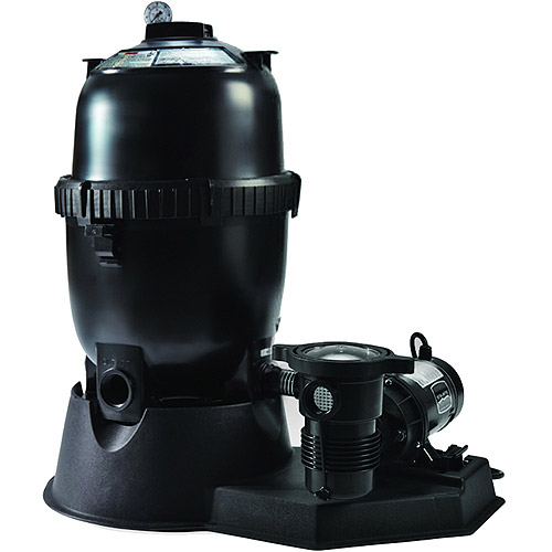 Swim Time Sta-Rite 150 Sq Ft Mod Media Filter System with 1.5 HP Pump for Above-Ground Pools
